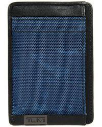 Tumi - Alpha Money Clip Card Case - Lyst