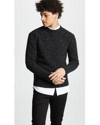 AMI - Crew Neck Sweater - Lyst