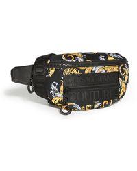 Versace Jeans Couture Macrologo Belt Bag - Black