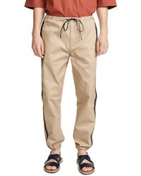 3.1 Phillip Lim Classic Track Trousers - Natural