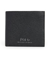 Polo Ralph Lauren Pebble Black Leather Wallet