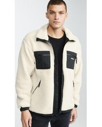 Obey Out There Sherpa Jacket - Natural