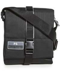 PS by Paul Smith Flight Ufo Slingpack Bag - Black
