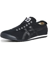 Onitsuka Tiger Mexico 66 Slip On Sneakers - Black