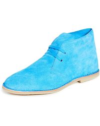 PS by Paul Smith Norman Chukka Boots - Blue