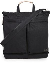 Porter Noir 2-way Helmet Bag - Black