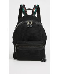 Moschino - Tricolor Logo Trim Backpack - Lyst