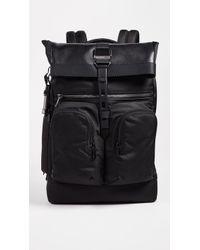 Tumi - Alpha Bravo London Rolltop Backpack - Lyst