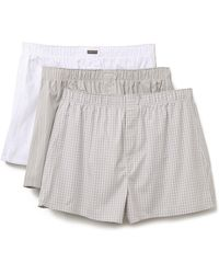 CALVIN KLEIN 205W39NYC - 3 Pack Woven Boxers - Lyst