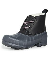 HUNTER Original Pac Short Boots - Black