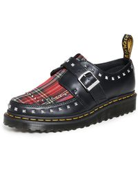 Dr. Martens Ramsey Monk Creepers - Black