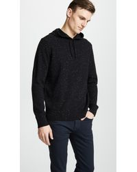 Club Monaco - Cashmere Donegal Hoodie - Lyst