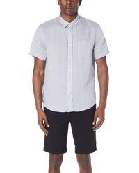 Vince - Classic Fit Short Sleeve Shirt - Lyst