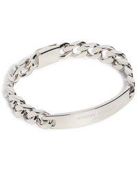 Maison Margiela Id Bracelet - Metallic
