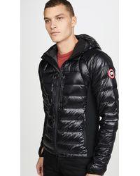 Canada Goose Hybridge Lite Hoodie Jacket - Black