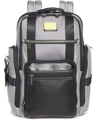 Tumi Alpha Bravo Sheppard Deluxe Brief Pack Business Backpack - Grey