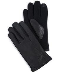 Polo Ralph Lauren Deerskin Hybrid Touch Gloves - Black