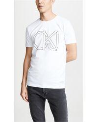 Calvin Klein - Fergus Logo Tee - Lyst