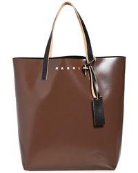 Marni Tribeca Shopper Bag - Black