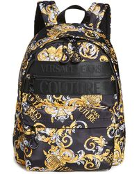 Versace Jeans Couture Macrologo Backpack - Black