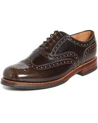 Grenson Stanley Lace Up Shoes - Brown