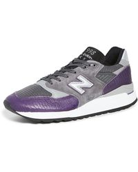New Balance Made In Us 998 Sneakers - Grey