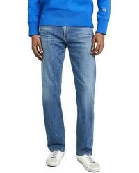 Citizens of Humanity Sid Regular Straight Jeans In Aurora Wash - Blue