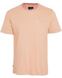 Obey Short Sleeve Apex Tee Shirt - Multicolor