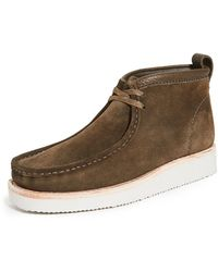 Clarks Wallabee Hike X2 Boots - Brown