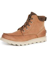 Sorel Madson Ii Moc Toe Waterproof Boots - Brown