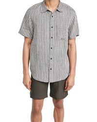 Madewell Short Sleeve Perfect Shirt - Multicolour