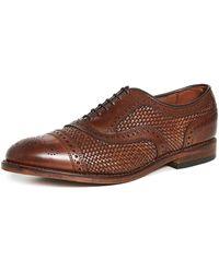 Allen Edmonds Strand Weave Shoes - Brown