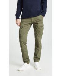 J.Crew - Herringbone Cargo Pants - Lyst