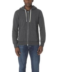 Reigning Champ - Mid Weight Full Zip Hoodie - Lyst