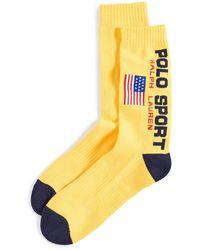 Polo Ralph Lauren Classic Polo Sport Socks - Metallic