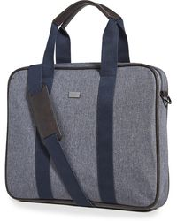 Ted Baker Runaway Document Bag - Grey