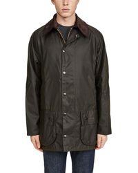 Barbour Mens Classic Beaufort Wax Jacket - Green