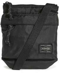 Porter Flex Shoulder Pouch - Black