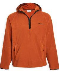 Carhartt WIP - Hooded Beaumont Half Zip Sweatshirt - Lyst