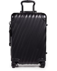 Tumi 19 Degree Aluminum International Carry On Suitcase - Black