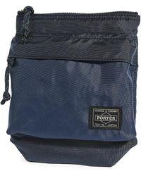 Porter Flex Shoulder Pouch - Blue