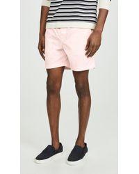 J.Crew Lightweight Stretch Chino Dock Shorts - Pink