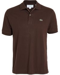 Lacoste Short Sleeve Polo - Brown