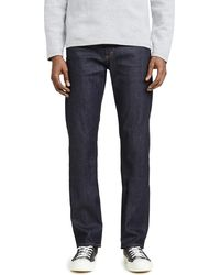Citizens of Humanity Core Slim Straight Jeans In Lafayette Wash - Blue