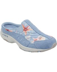 Easy Spirit Traveltime Clogs - Blue