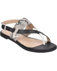 Easy Spirit - Avah Flat Sandals - Lyst