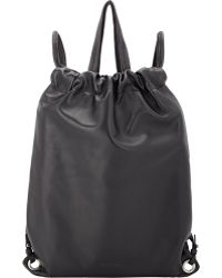 Robert Clergerie - Drawcord Backpack - Lyst