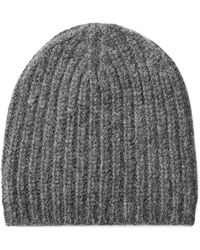 Closed - Knit Hat With Alpaca And Wool - Grey - Lyst