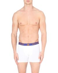 Ralph Lauren Crown Polo Trunks White - Lyst