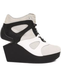 McQ by Alexander McQueen Leap Wedge Sneaker - Lyst